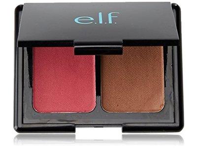 e.l.f. Aqua Beauty Blush & Bronzer, 57038 Bronzed Pink Beige, 0.29 oz