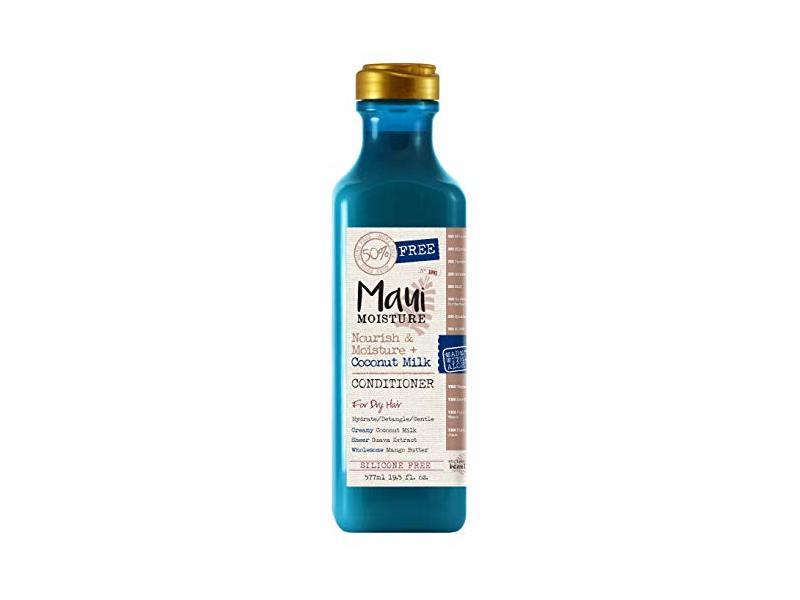Maui Moisture Conditioner, Coconut Milk, 19.5 fl oz (Pack of 2)