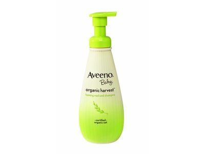 Aveeno Baby Organic Harvest Wash and Shampoo, 8 Ounce