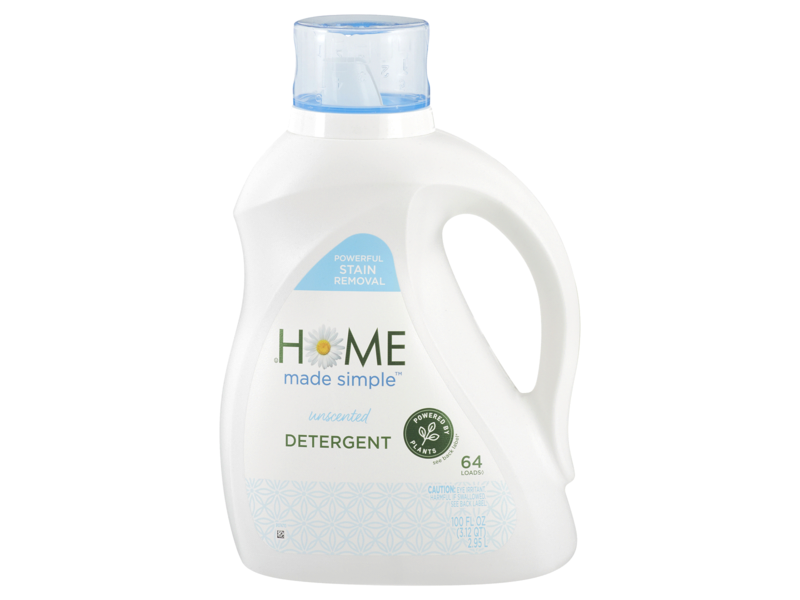 Home Made Simple Laundry Detergent, Unscented, 64 loads