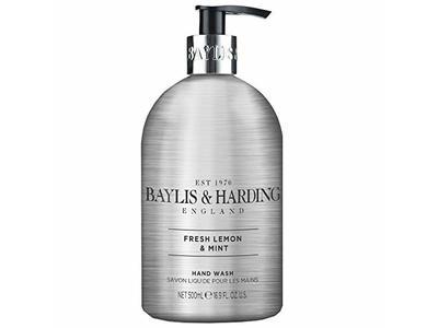 Baylis & Harding Elements Luxury Hand Wash, Fresh Lemon & Mint, 16.9 fl oz/500 ml