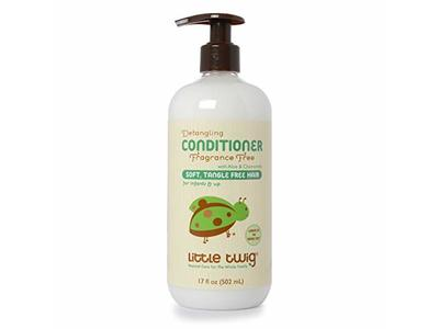 Little Twig All Natural Baby Detangling Conditioner Fragrance Free, Unscented, 17 fl oz