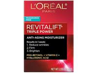 L'Oreal Paris Revitalift Anti-Aging Fragrance-Free Moisturizer 2.55 Oz - Image 4