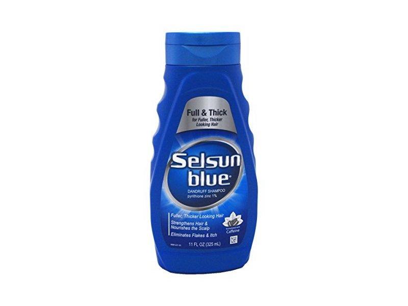 Selsun Blue Shampoo Dandruff For Fuller/Thicker Hair, 11oz