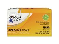 Beauty 360 Gold Bar Soap Deodorant Protection - Image 2