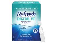 Refresh Digital PF Lubricant Eye Drops, Preservative-Free, 0.01 fl oz / 0.4 mL, 30 Count - Image 2