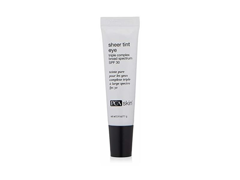 PCA Skin Sheer Tint Eye Triple Complex Broad Spectrum SPF 30, 0.4 oz/11 g