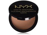 NYX Professional Makeup Matte Bronzer, Light, 0.33 oz - Image 5