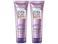 L'Oreal Paris Ever Pure Volume Shampoo And Conditioner Set, Lotus, Sulfate-Free, 8.5 fl oz/250 mL - Image 2