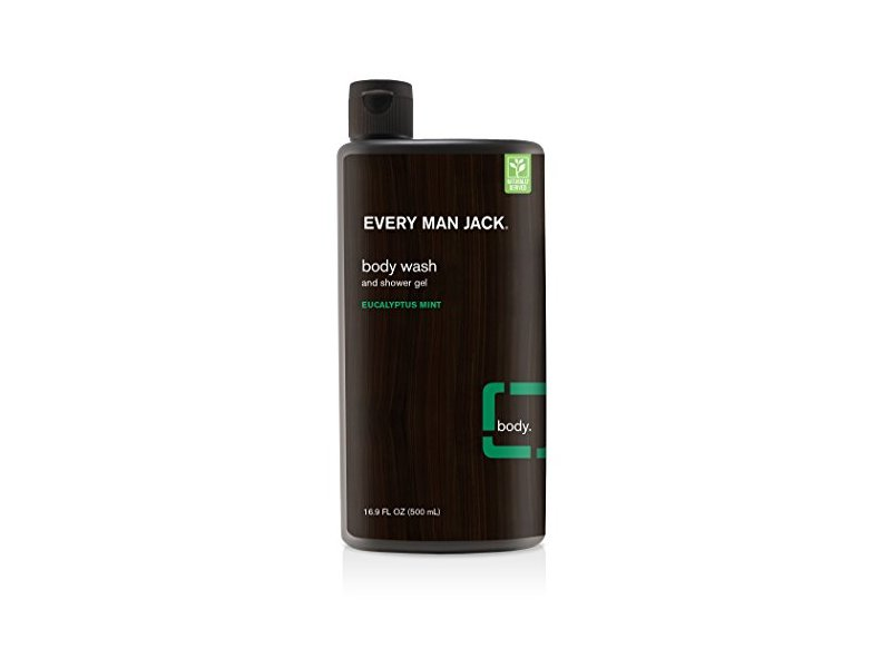 Every Man Jack Body Wash, Eucalyptus, 16.9 Fluid Ounce