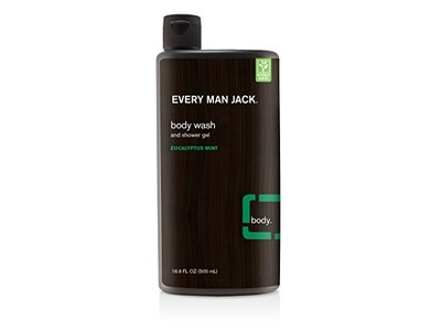 Every Man Jack Body Wash, Eucalyptus, 16.9 Fluid Ounce