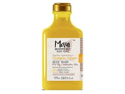 Maui Moisture Body Wash, Pineapple Papaya, 19.5 fl oz