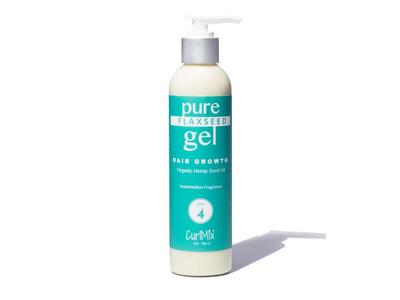 CurlMix Pure Flaxseed Gel Hair Growth, Step 4