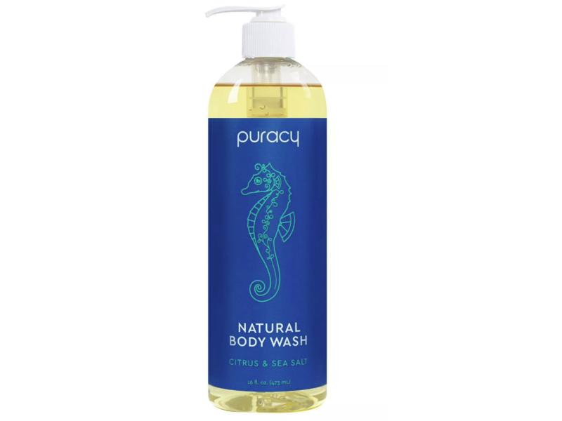 Puracy Natural Body Wash, Citrus & Sea Salt, 16 fl oz (473 mL)