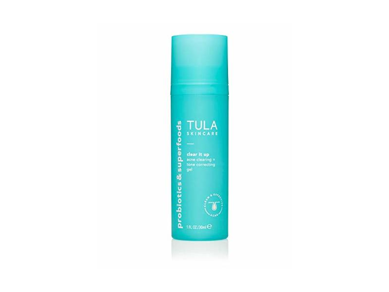 Tula Probiotic Skin Care Clear It Up Acne Clearing + Tone Correcting Gel, 1 fl oz/30 mL