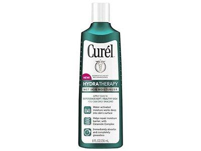 Curel Hydra Therapy Wet Skin Moisturizer Body Lotion, 8 Fl Oz - Image 1
