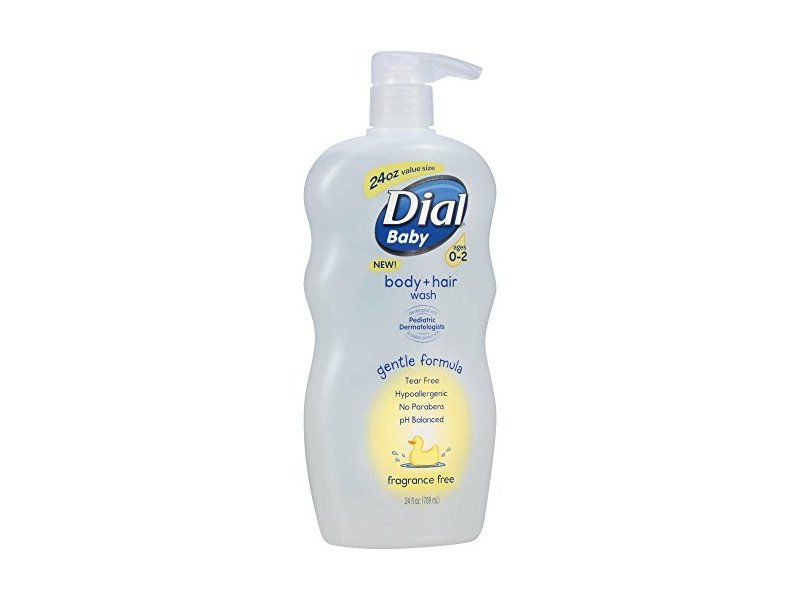 Dial Baby Body and Hair Wash, 24 fl oz