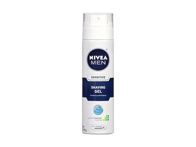 Nivea For Men Shaving Gel, Sensitive Skin, Beiersdorf, Inc.