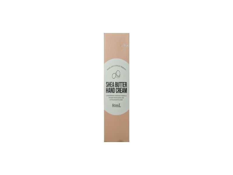 Hand And Cuticle Therapy Shea Butter Hand Cream, 80 ml