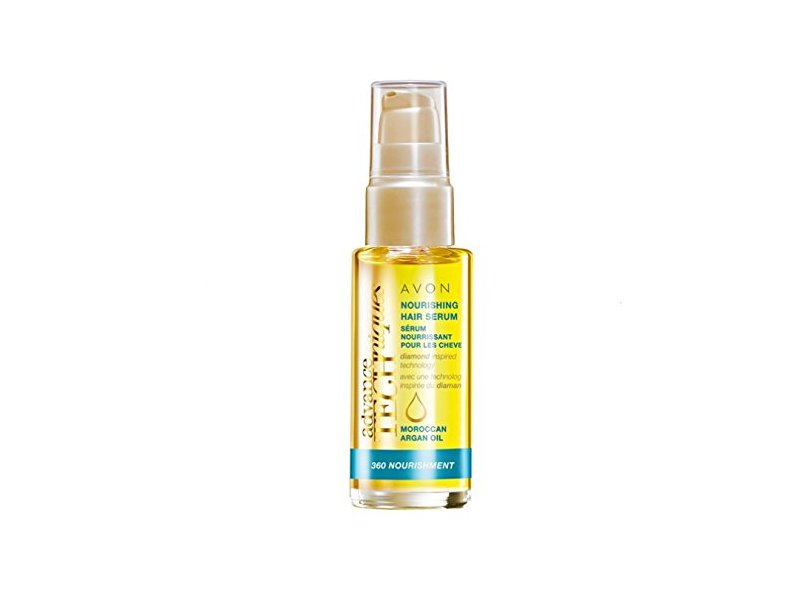 Avon Advance Techniques Moroccan Argan Oil Leave-in Treatment, 2 fl oz