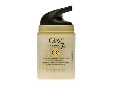 Olay CC Cream Total Effects Daily Moisturizer plus Touch of Foundation, 1.7 fl. Oz., Packaging May Vary - Image 8