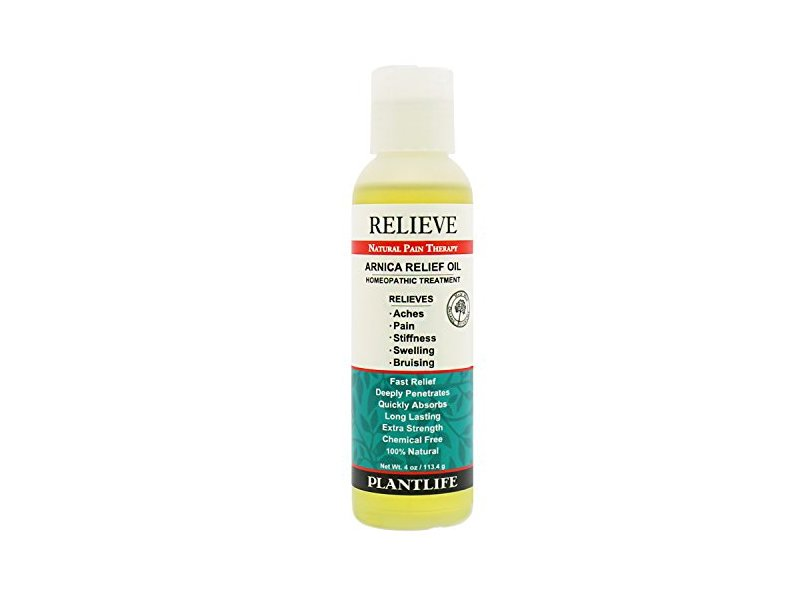 Plantlife Relieve Arnica Relief Oil, 4 oz