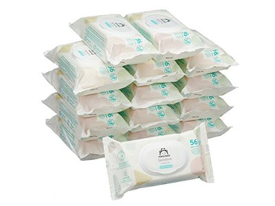 Mama Bear Sensitive Unscented Baby Wipes, 840 Wipes