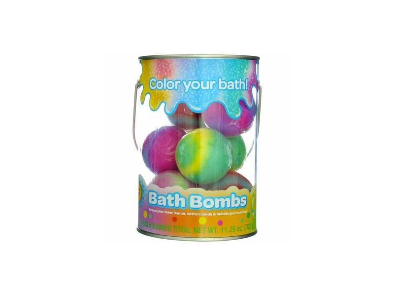 Crayola Bath Bombs Bucket, 8 Count