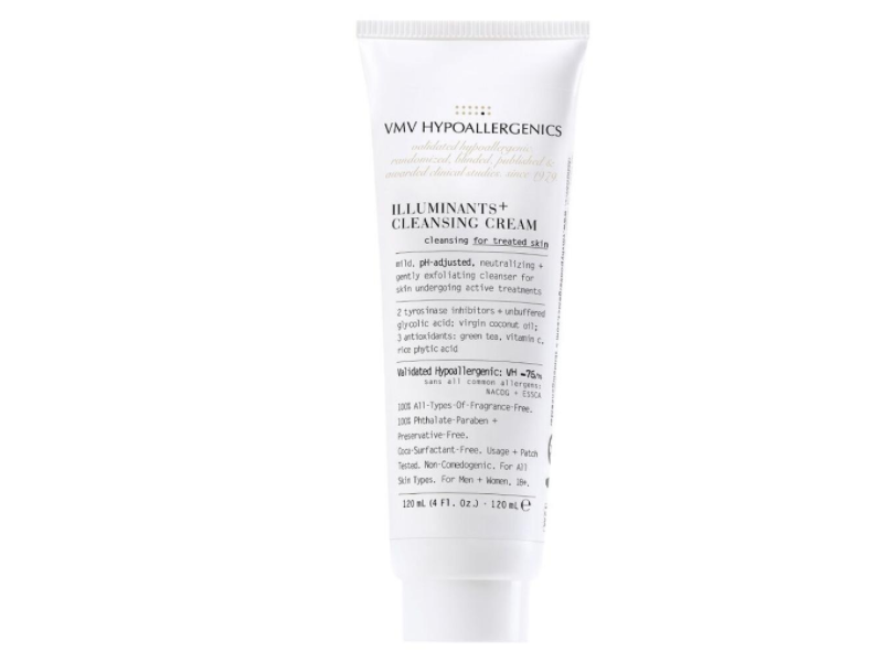 VMV Hypoallergenics Illuminants+ Cleansing Cream, 4.0 fl oz