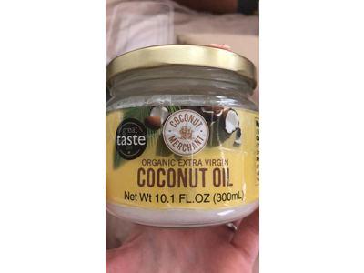 Coconut Merchant Extra-Virgin Organic Raw Coconut Oil, 300ml - Image 3