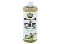 Open Nature Pure Castile Soap, Peppermint Oil, 32 fl oz - Image 2