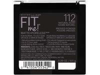 Maybelline New York Fit Me Matte + Poreless Pressed Face Powder Makeup, Natural Ivory, 0.28 Ounce - Image 4