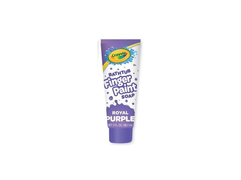 Crayola Bathtub Finger Paint Soap, Royal Purple, 3 fl oz