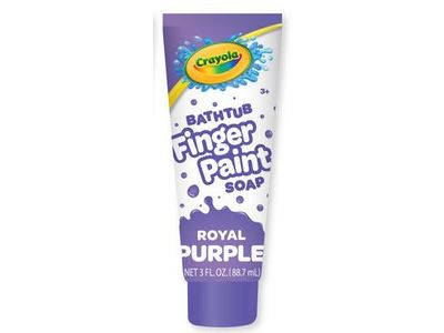 Crayola Bathtub Finger Paint Soap, Royal Purple, 3 fl oz