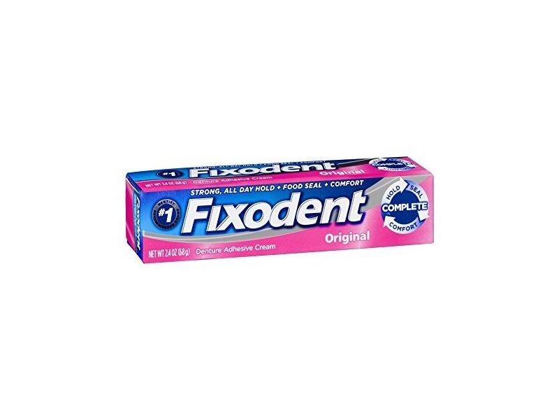 Fixodent Denture Adhesive Cream Original, 2.4 oz