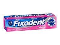 Fixodent Denture Adhesive Cream Original, 2.4 oz - Image 2