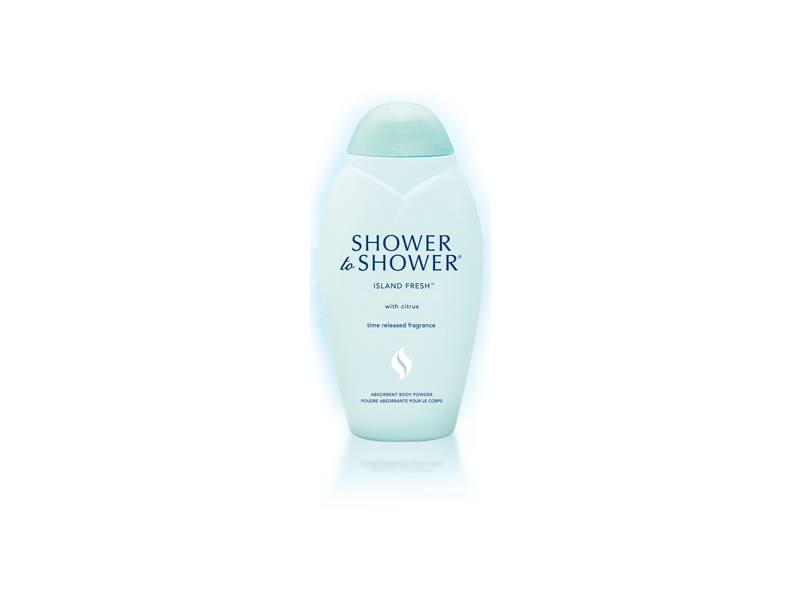 Shower To Shower Body Powder, Island Fresh, 8 oz