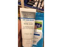 Dove DermaSeries Dry Skin Relief Body Wash, 1.7 fl oz - Image 3