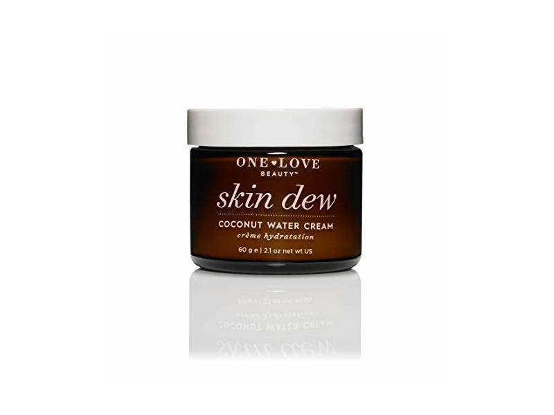 One Love Organics Skin Dew Coconut Water Cream, 2.1 OZ