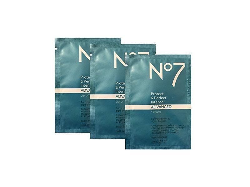 Boots No7 Protect & Perfect Intense Advanced Beauty Anti-Aging Serum, 0.1 fl