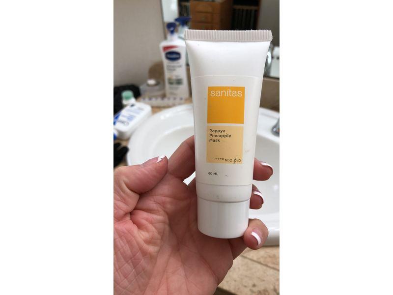 Sanitas Skincare Papaya Pineapple Mask 60 ml.