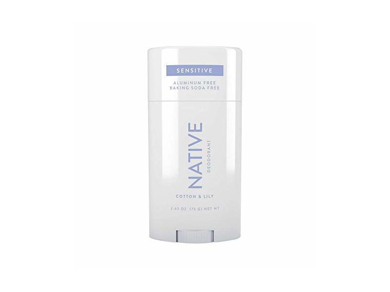 Natural Sensitive Native Cotton & Lily Aluminum-Free Deodorant, 2.65 oz