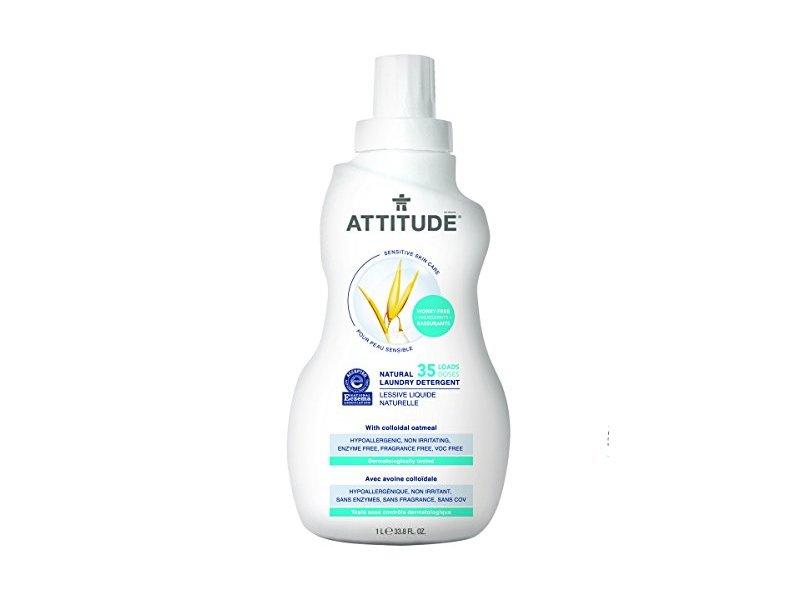 Attitude Natural Laundry Detergent, 33.8 fl oz