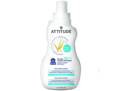 Attitude Natural Laundry Detergent, 33.8 fl oz