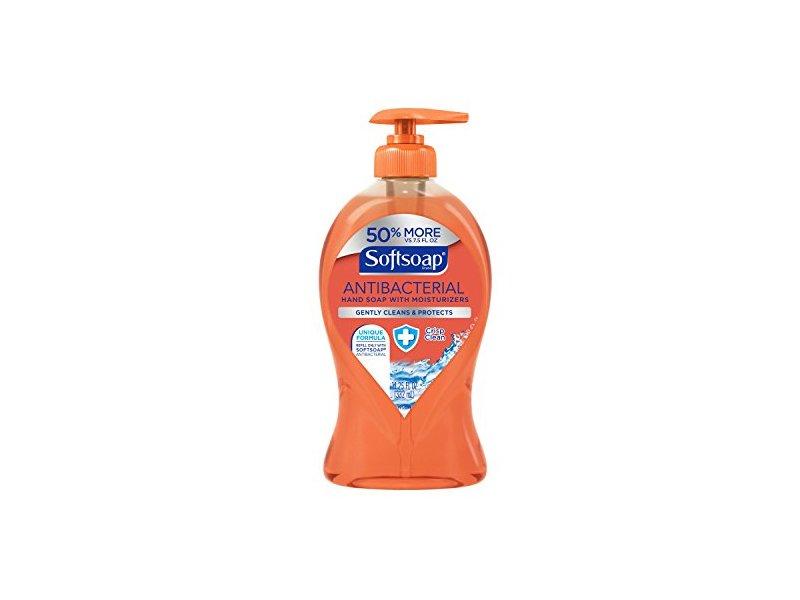 Softsoap Liquid Hand Soap Pump Antibacterial Crisp Clean