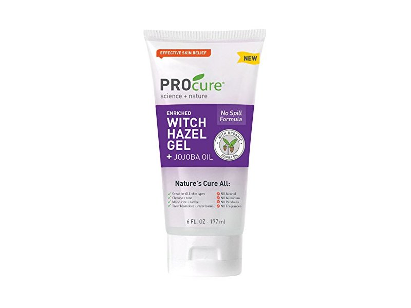 PROcure Witch Hazel Gel + Organic Jojoba Oil, 6 Ounce Tube