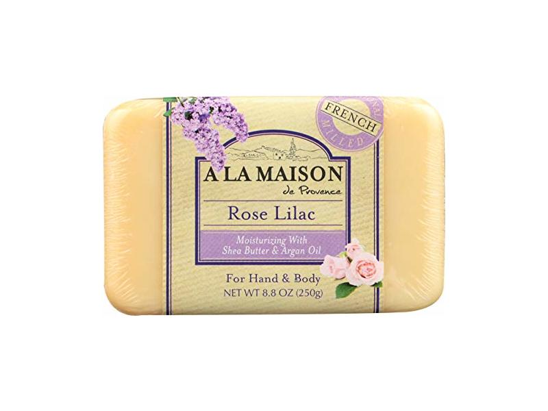 A La Maison Soap Bars, Rose Lilac, Single Bar 8.8 oz