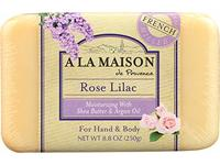 A La Maison Soap Bars, Rose Lilac, Single Bar 8.8 oz - Image 2