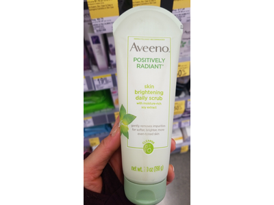 Aveeno Positively Radiant Skin Brightening Exfoliating Daily Facial Scrub 7 oz - Image 10