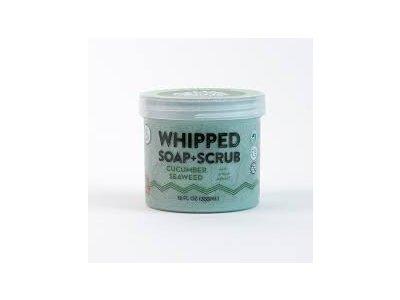 Pacha Soap Cucumber Seaweed Whipped Soap, 10 OZ